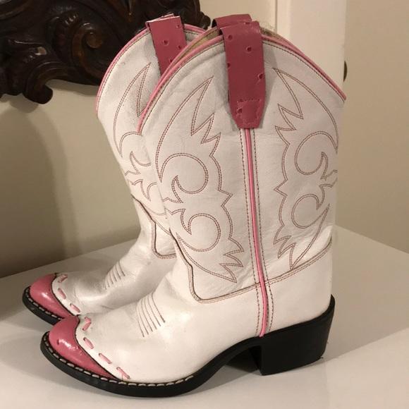 Pink Girls Western Cowgirl Boots   Poshmark